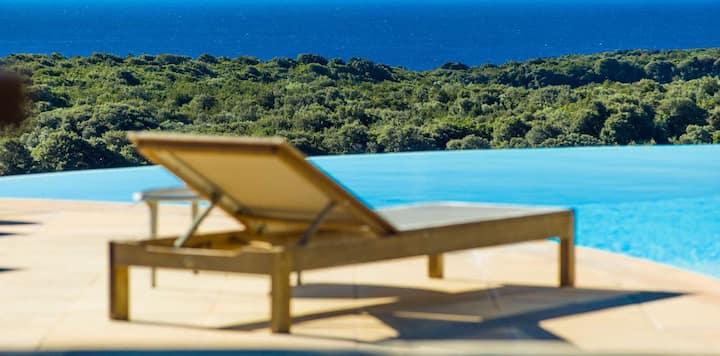 Mini villa F4 avec vue splendide