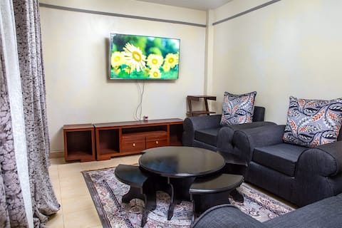 A clean comfortable one bedroom apartment