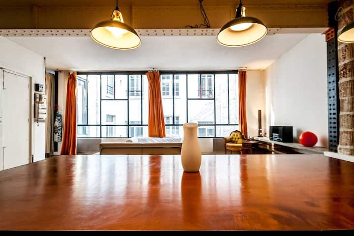 Industrial Loft Centro Paris