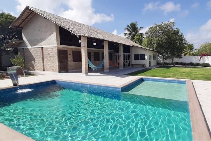 Casa de praia para 10 pessoas - Porto de Galinhas