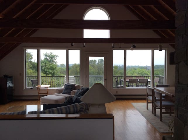 Privet contemporary, big Views - New Shoreham - Casa