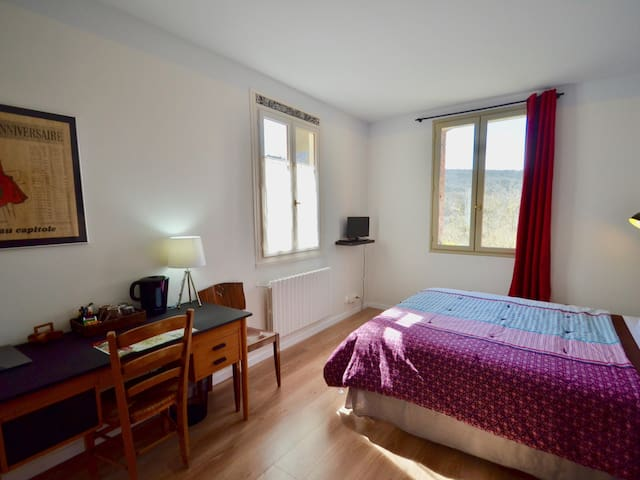 Double room-Standard-Private Bathroom-Garden View- St Paul