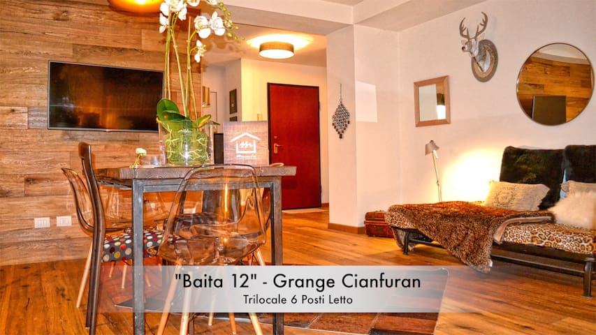 """Baita 12"" Cianfuran - Chalet with Private Garden - Bardonecchia"