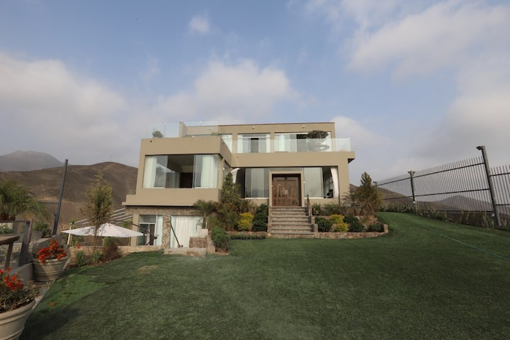 The private paradise in Pachacamac