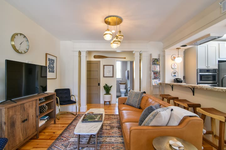 Chic, Comfortable, and Walkable Downtown.