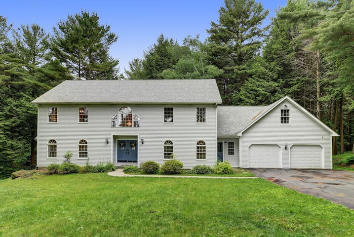 Grand Colonial Home in the Heart of The Berkshires