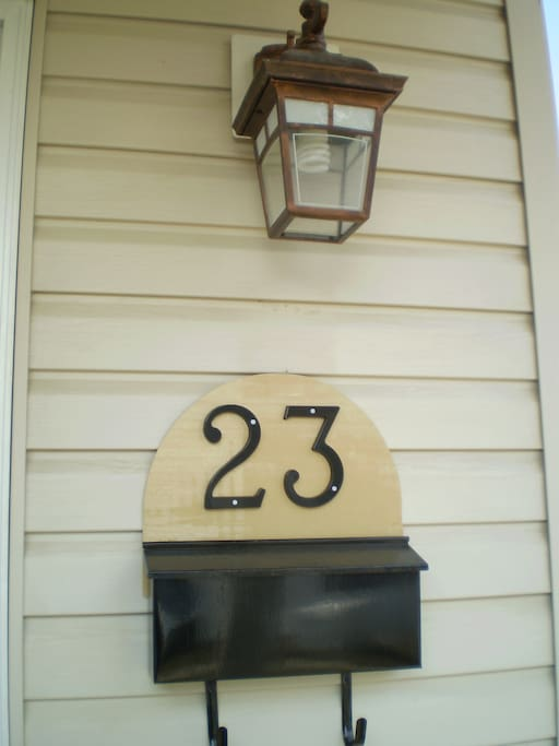house's number