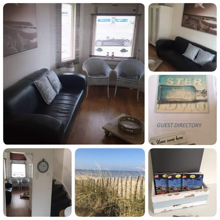 SteR Appartement Zandvoort for 1 - 4 persons.