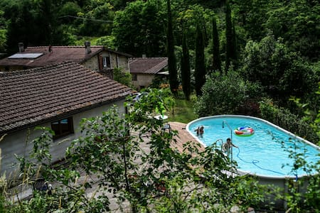 Casa privata e appartata con piscina, Mugello (Fi)