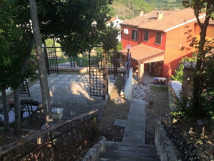 Casa in collina,parco colli Euganei