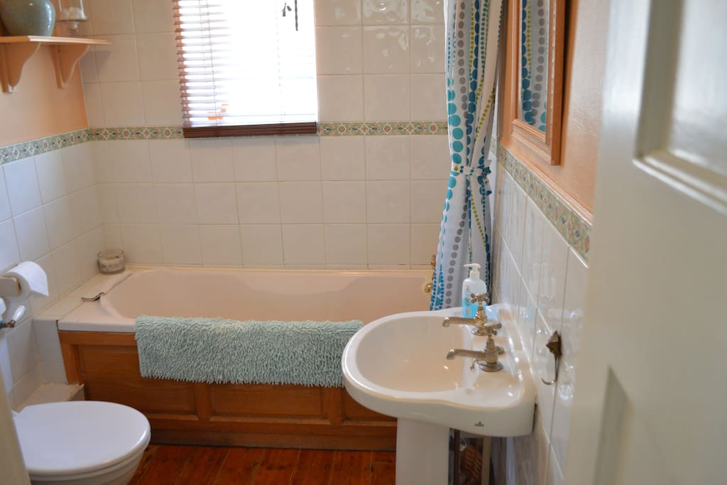Adjoining bath/shower room for your private use