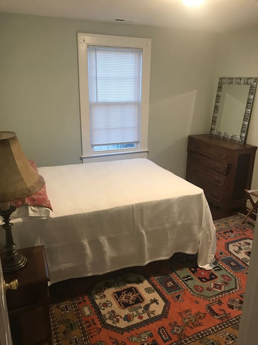 Bedroom 1 with full bed