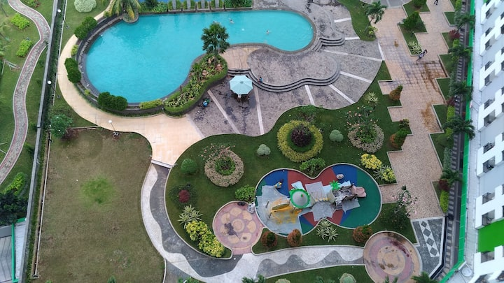Appartemen GLV Konsep Resort dengan Fasilitas *5