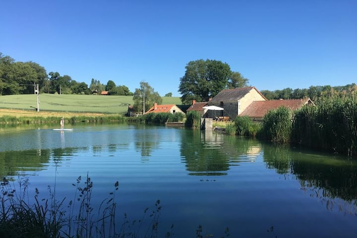 Le Petit Moulin - Private Wood, Pond and Tennis