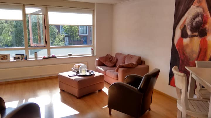 Apartment with 2 floors nearby Amsterdam and beach