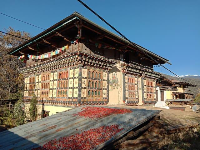 Paro Kichu homestay