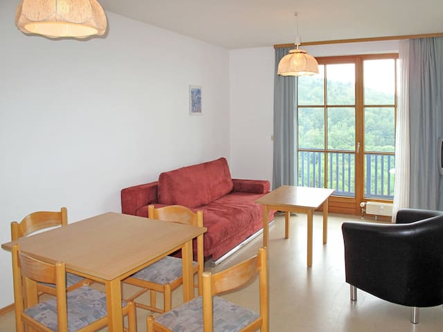 30-36 m² apartment Appartementanlage Sonnenwald in Langfurth - Langfurth - Apartamento