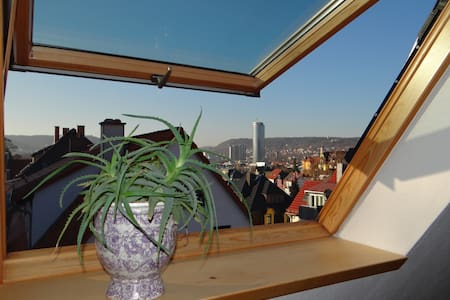 attraktives 2-Zimmer-Apartment mit Ausblick - Jena - Leilighet