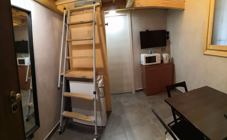 My tiny house - Minialloggio con tre posti letto.