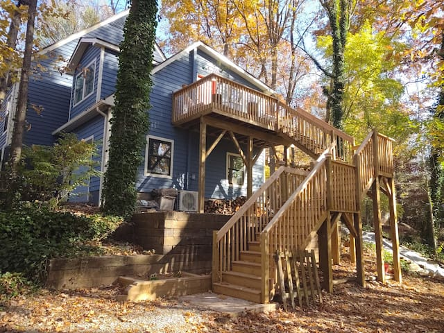 """Tree house"" in South Asheville"