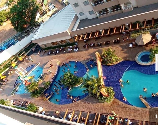 Resort em Olímpia ao lado do Thermas dos Laranjais