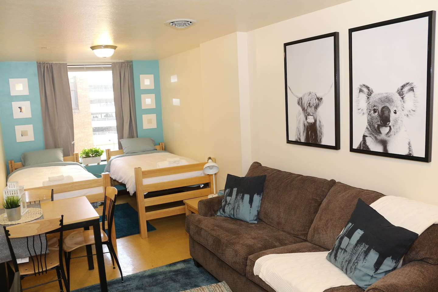 How adorable! Get cozy in this full private apartment!