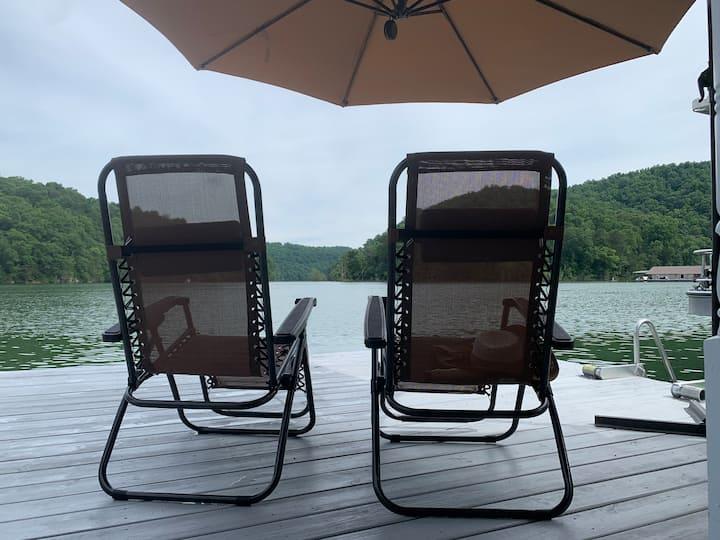 Norris Lake Water Haven (+optional pontoon rental)