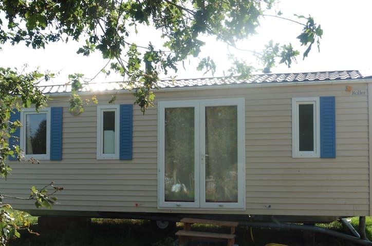 bungalow 6 à 8 personnes chez éleveur de poneys