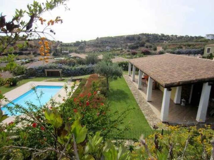 esclusiva villa con piscina privata - vista mare