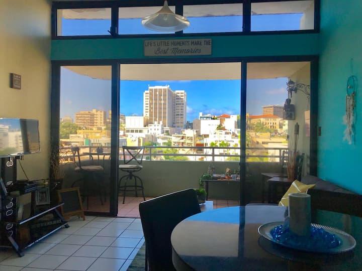 FREE WiFi & PARKING | Best location San Juan