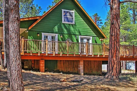 Warm 3BR Happy Jack Cabin in Coconino Nat'l Forest - Happy Jack - Cottage