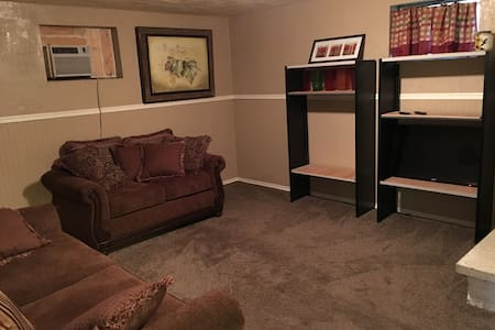 Comfy Basement Apt  Near Airport - Salt Lake City