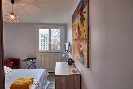 chambre calme dans logement bien situé à nevers