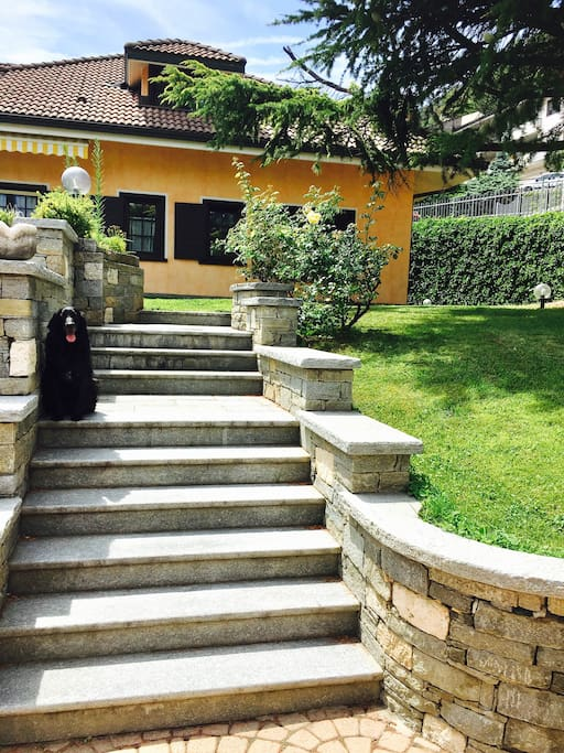 -L'entrata -The entrance -L'entrée