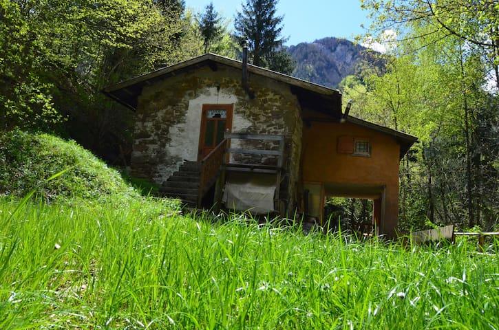 Casetta di Montagna del XIX secolo  - Moggio Udinese , fraz. Bevorchians - Dom
