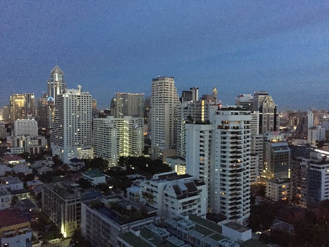 Room@Siam center&Local friend/BTS Skytrain/MBK - Bangkok - Apartment