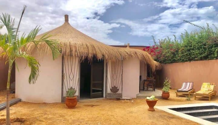 Charmante villa neuve avec piscine a la Somone