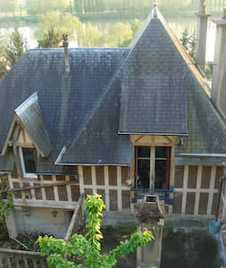 Chambre 15m2 avec vue sur jardin - La Frette-sur-Seine - 獨棟