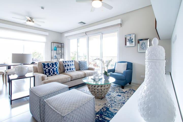 3 Bedroom Designer Ocean View Condo @Los Sueños