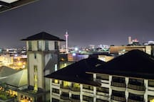 Night View from the Balcony! Isn't it beautiful?