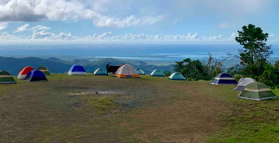 Sea view Mountain Top Campsite