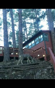 RED HART 2/2 Cabin with Pool Table - Ruidoso - Chatka