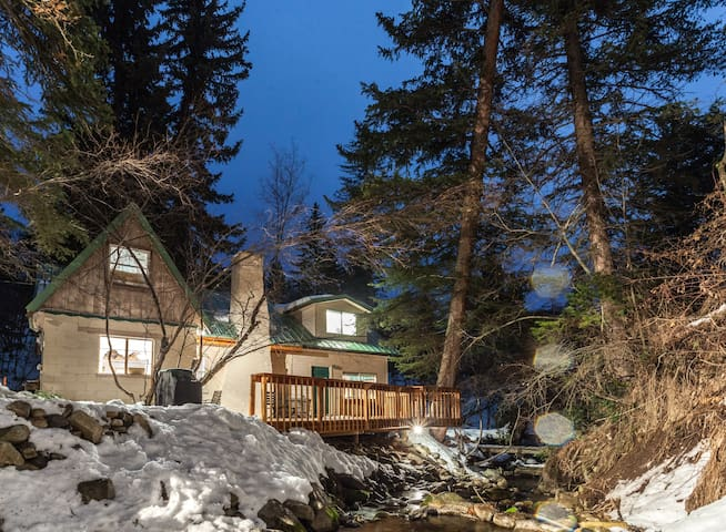 Cozy, Rustic Cottage on the Stream - Sundance - Rumah