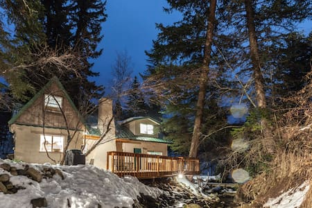 Cozy, Rustic Cottage on the Stream - Sundance - Haus