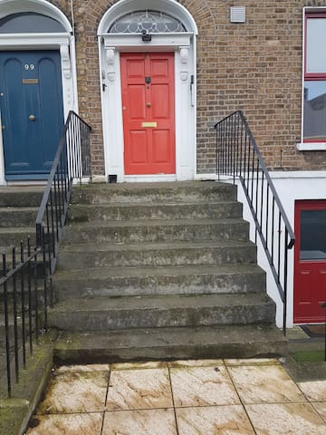 7 steps to climb out front of our house no 101.
