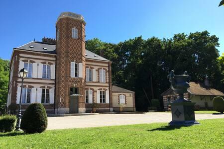 Château de Montabert Chambre Deluxe - Montaulin - Guesthouse