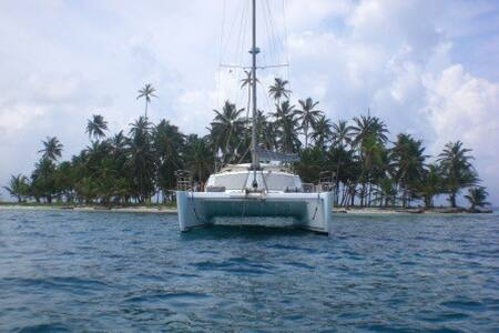 Private catamaran in San Blas - San Blas