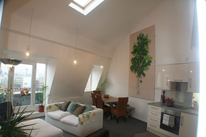 Modern loft apartment, Belfast's Cathedral Quarter