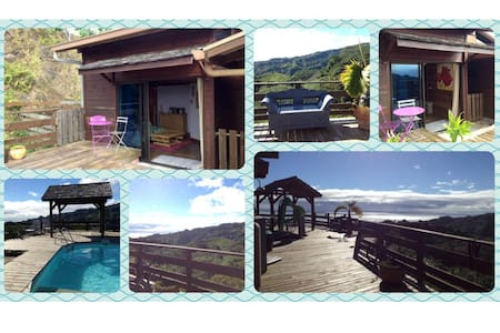 Bungalow between sea and mountain ! - Mahina - 小平房