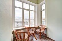 Роскошная квартира в центре с видом на Фонтанку